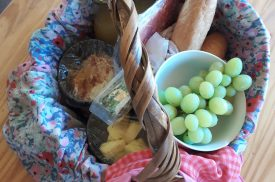 Laughing Waters picnic basket